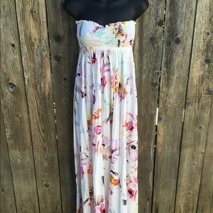 Plum Pretty sugar floral maxi